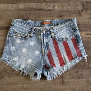 Vigoss American Flag Patriotic Shorts